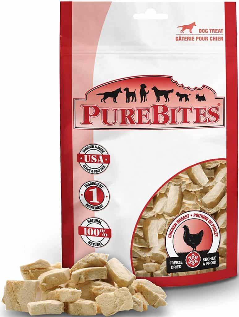 purebites chicken low-carb dog treats