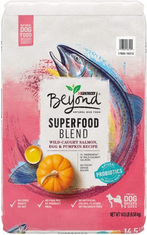 purina beyond natural adult dry dog food superfoods blend formula small breed formula