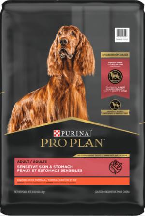 purina pro plan adult sensitive skin stomach salmon rice formula dry dog food