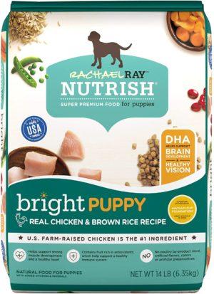 rachael ray nutrish bright puppy chicken brown rice dry dog food