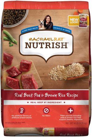 rachael ray nutrish dry dog food beef pea brown rice recipe