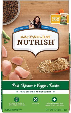 rachael ray nutrish dry dog food chicken veggies recipe
