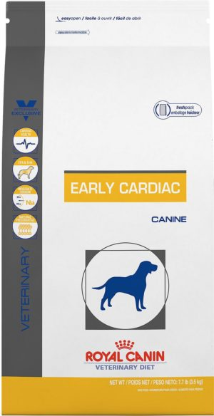 royal canin veterinary diet early cardiac dry dog food