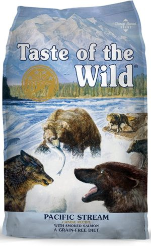 taste of the wild grain free high protein real meat recipe pacific stream dry dog food