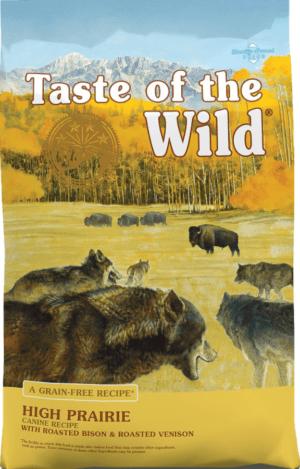 taste of the wild high prairie grain free dry dog food