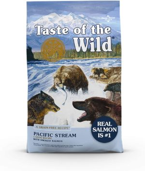 taste of the wild high protein real fish premium dry dog food with real salmon superfoods probiotics and antioxidants