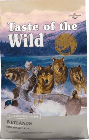 taste of the wild wetlands grain free dry dog food