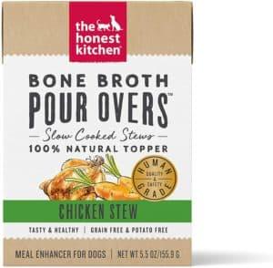 the honest kitchen bone broth dog food topper