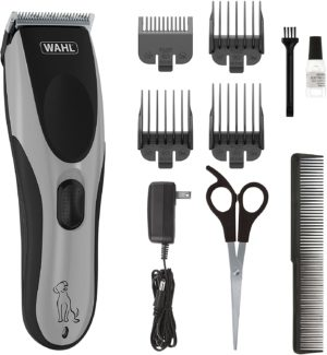 wahl easy pro for pets rechargeable dog grooming kit quiet low noise heavy duty electric dog clippers for dogs cats with thick to heavy coats model 9549