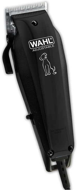 wahl pet clipper hair cutting kit for touch ups between professional grooming to your dog or cut by the brand used by professionals