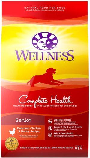 wellness natural pet food complete health natural dry senior dog food